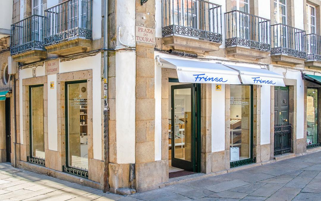 """Frinsa abre nueva tienda """"La Conservera"""" en Santiago de Compostela"""